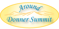 logo saying Around Donner Summit