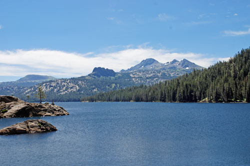 photo of Caples Lake on Carson Pass, CA