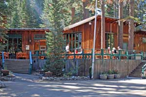 Kit Carson Lodge at Silver Lake near Carson Pass, CA